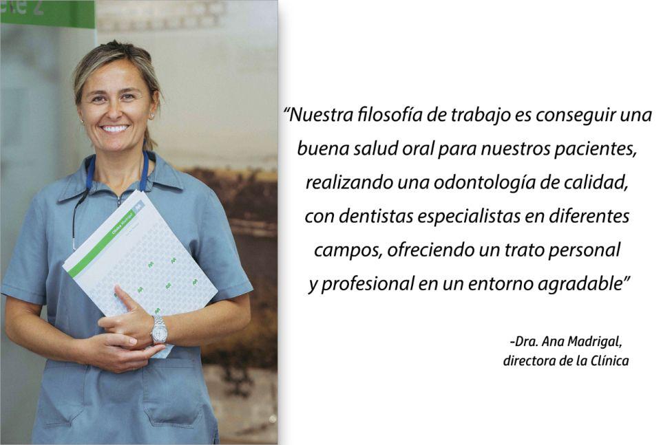 Nuestra filosofía de trabajo por la Dra. Ana Madrigal