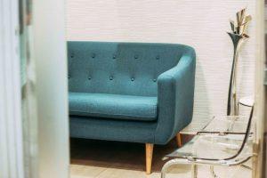 Detalle sillón sala de espera
